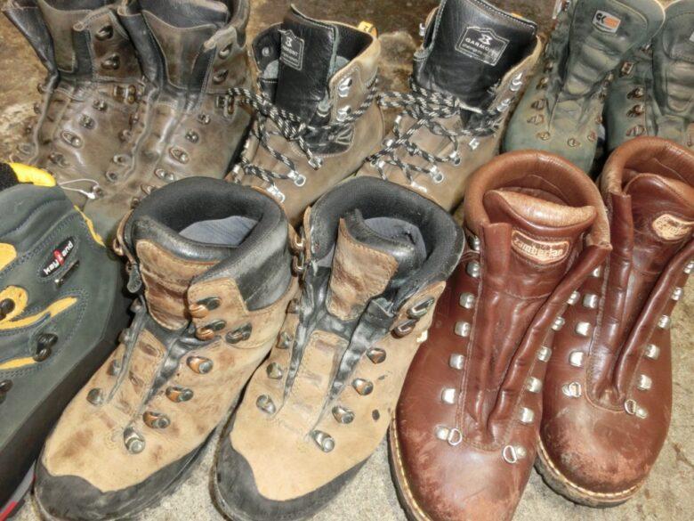 ビブラムソール交換以外の修理について 登山靴を10年長持ちさせる修理方法!