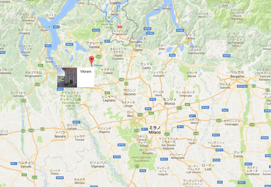 Vibram Map1